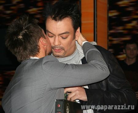 дроботенко и галкин целуются фото